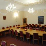 zasedací místnost radnice
