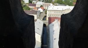 Pohled z věže radnice