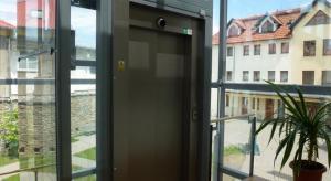 Výtah v knihovně