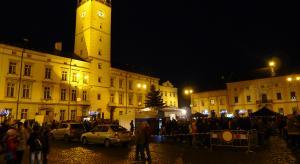 Předvánoční náměstí