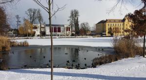 Kačenkám se zmenšil rybník