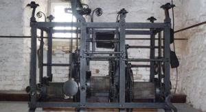 Hodinový stroj z r.  1727