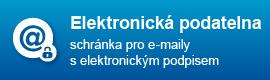 Elektronická podatelna, obrázek se otevře v novém okně