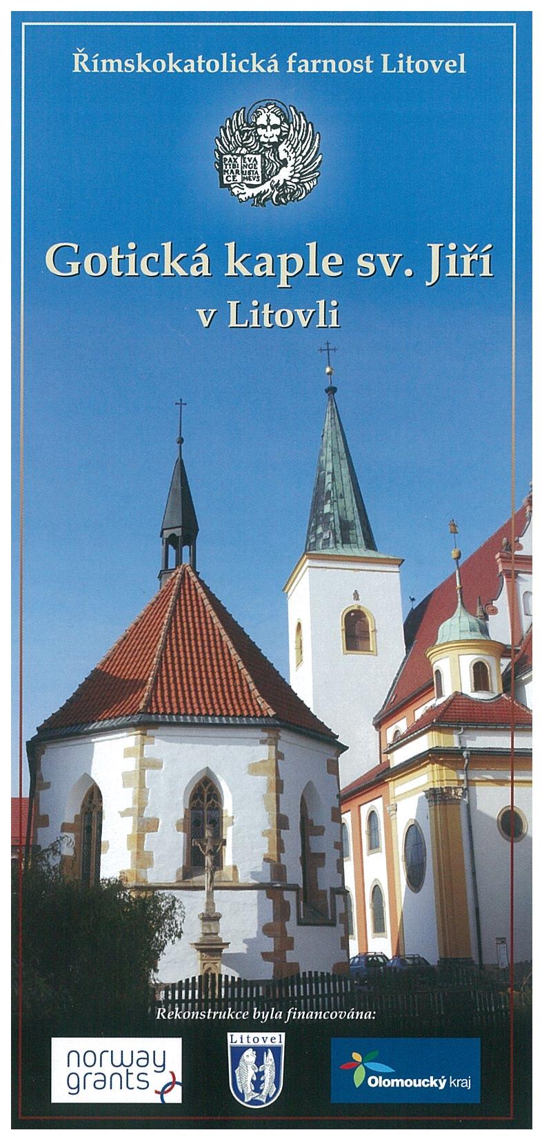 Gotická kaple sv  Jiří v Litovli, obrázek se otevře v novém okně