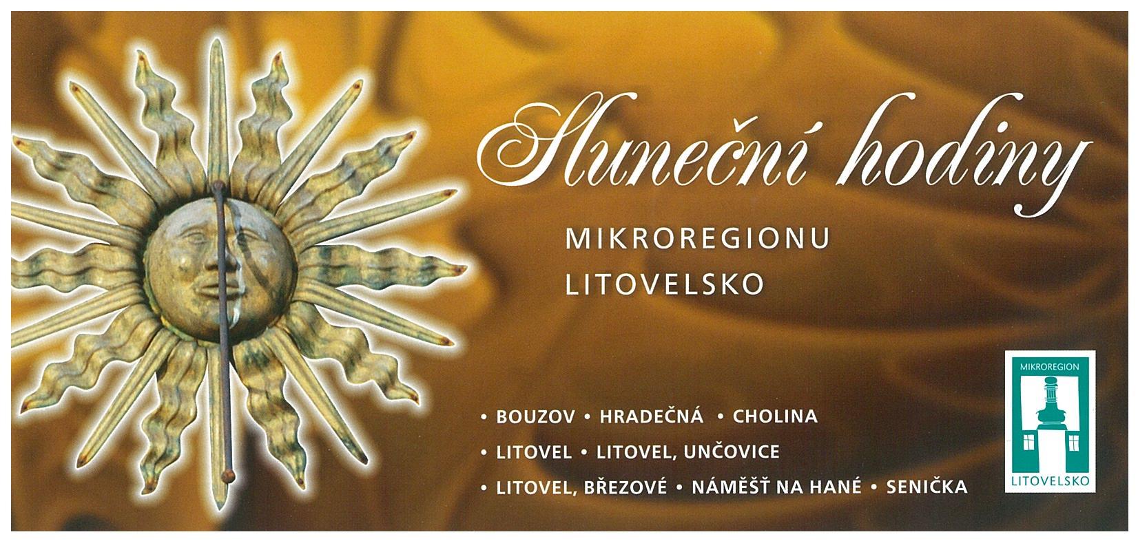 Sluneční hodiny Mikroregionu Litovelsko, obrázek se otevře v novém okně