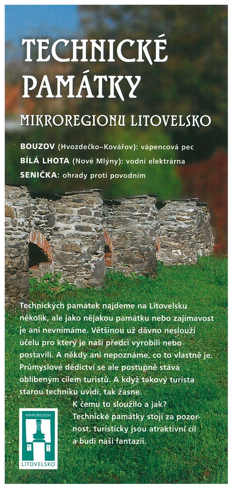 Technické památky Mikroregionu Litovelsko, obrázek se otevře v novém okně