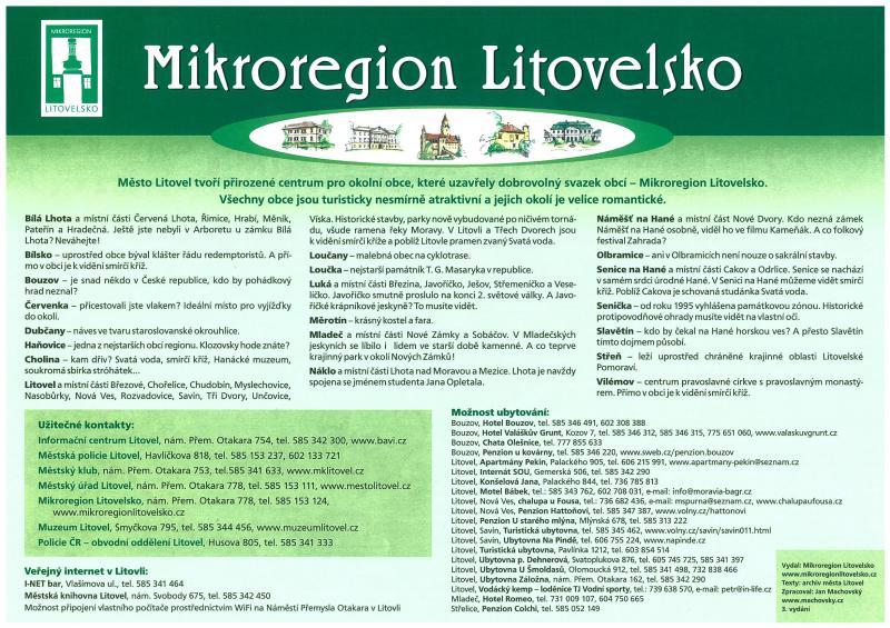 Mikroregion Litovelsko, obrázek se otevře v novém okně