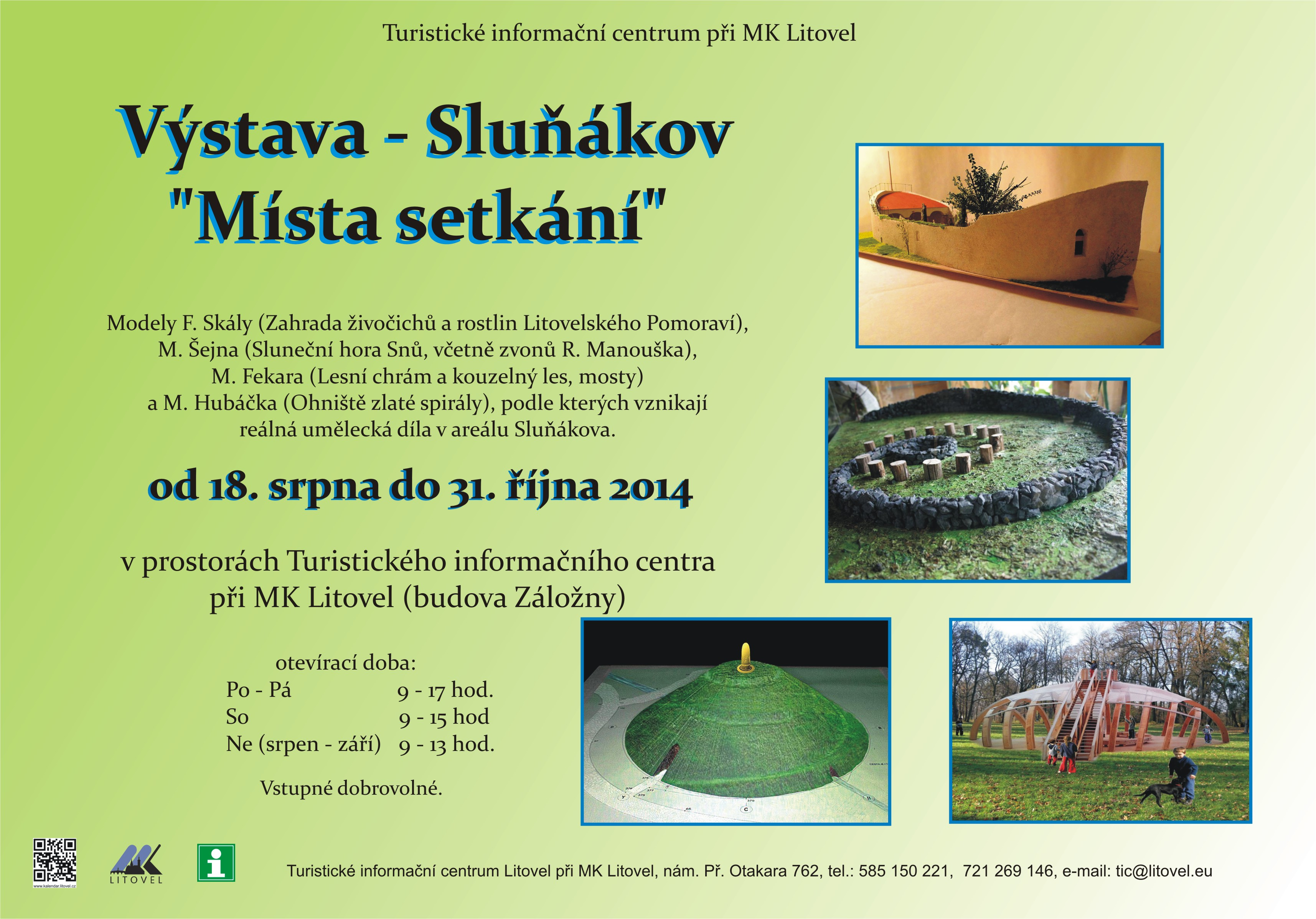 Výstava Sluňákov, obrázek se otevře v novém okně