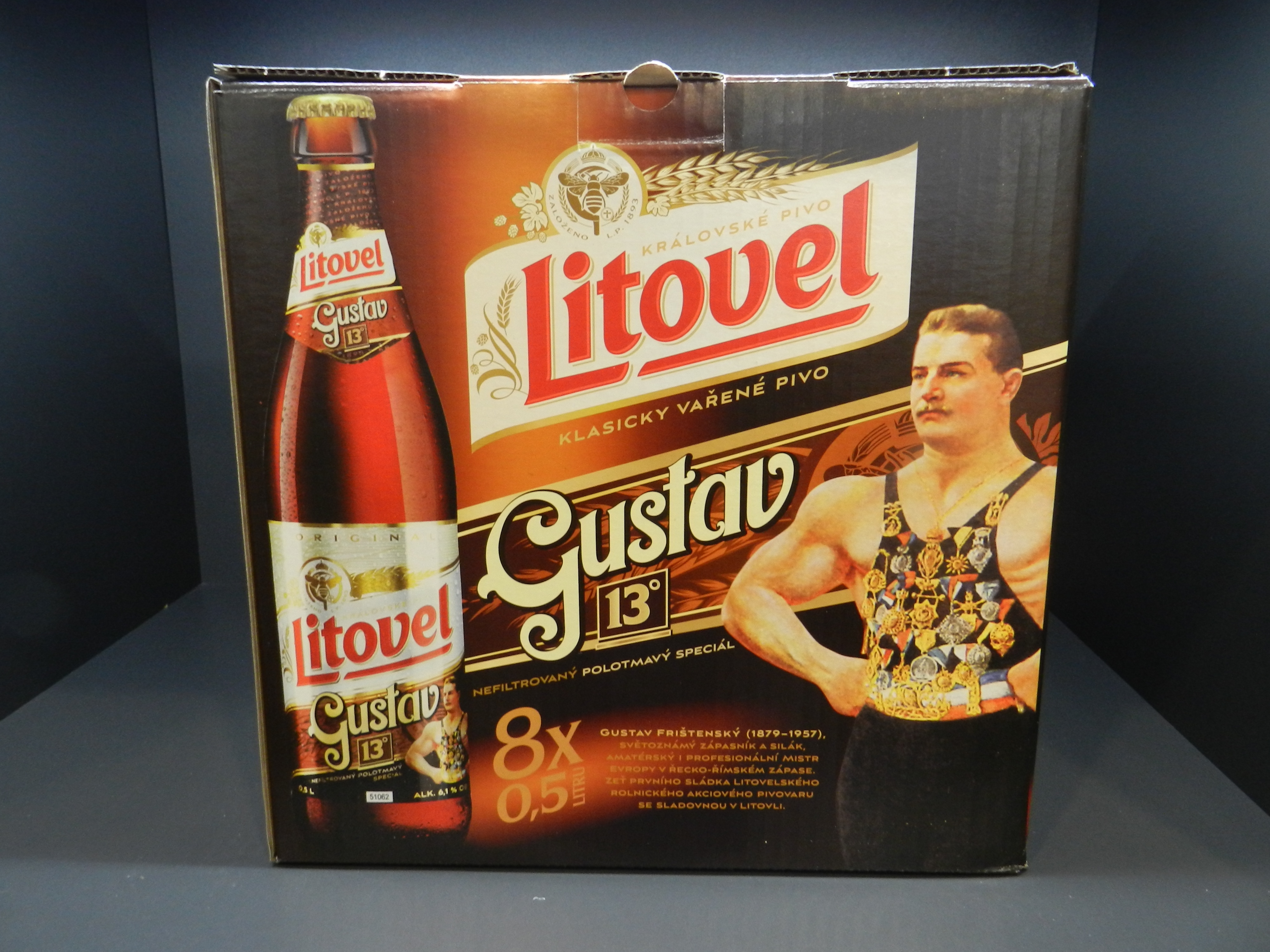 Gustav 8 pack, obrázek se otevře v novém okně