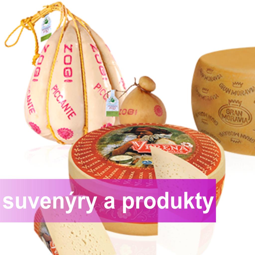 Suvenýry a produkty, obrázek se otevře v novém okně