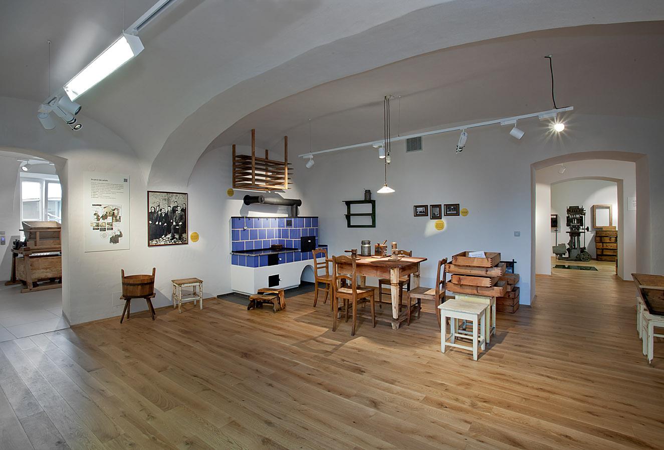 Loštice muzeum tvarůžků, obrázek se otevře v novém okně