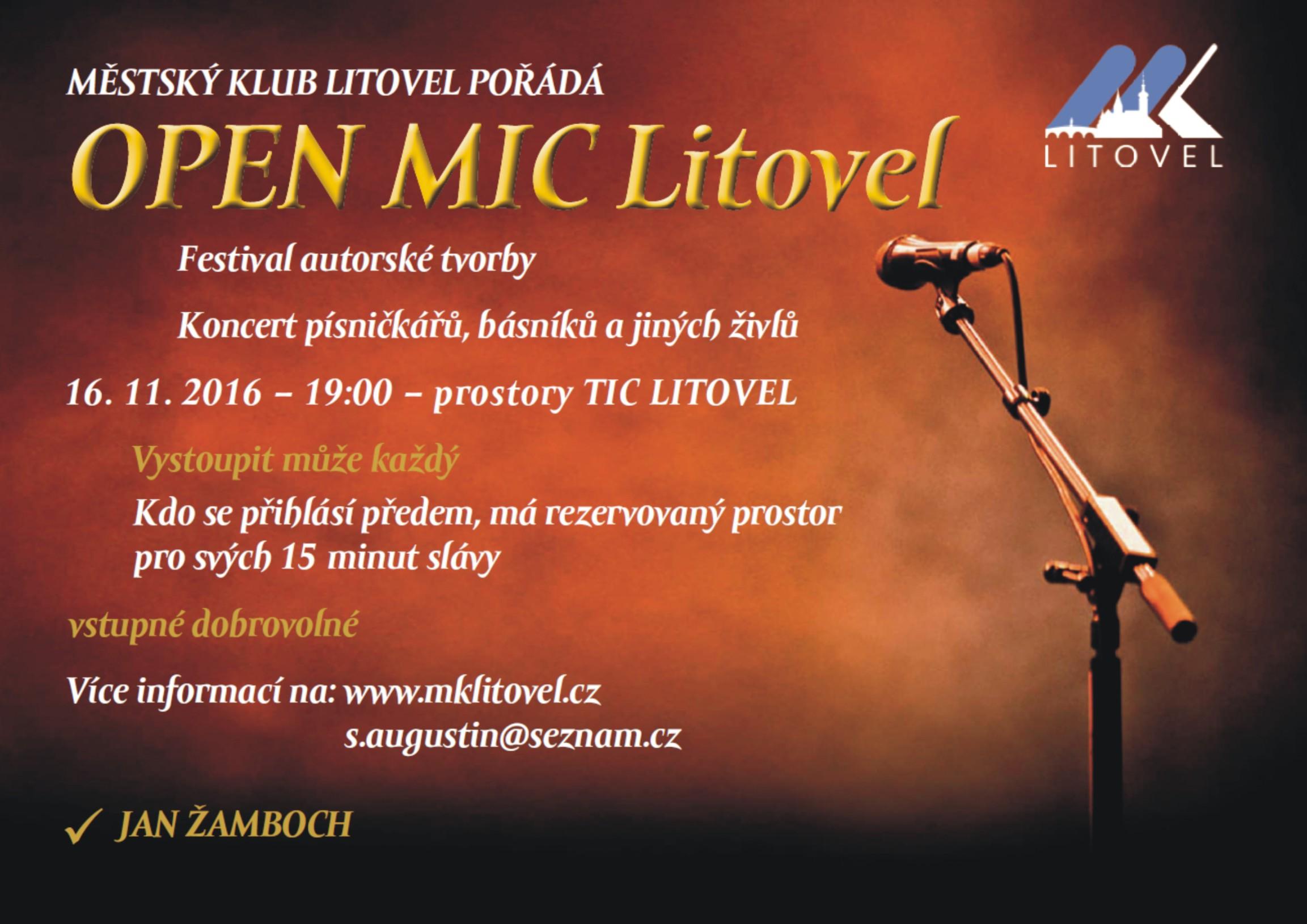Open MIC, obrázek se otevře v novém okně