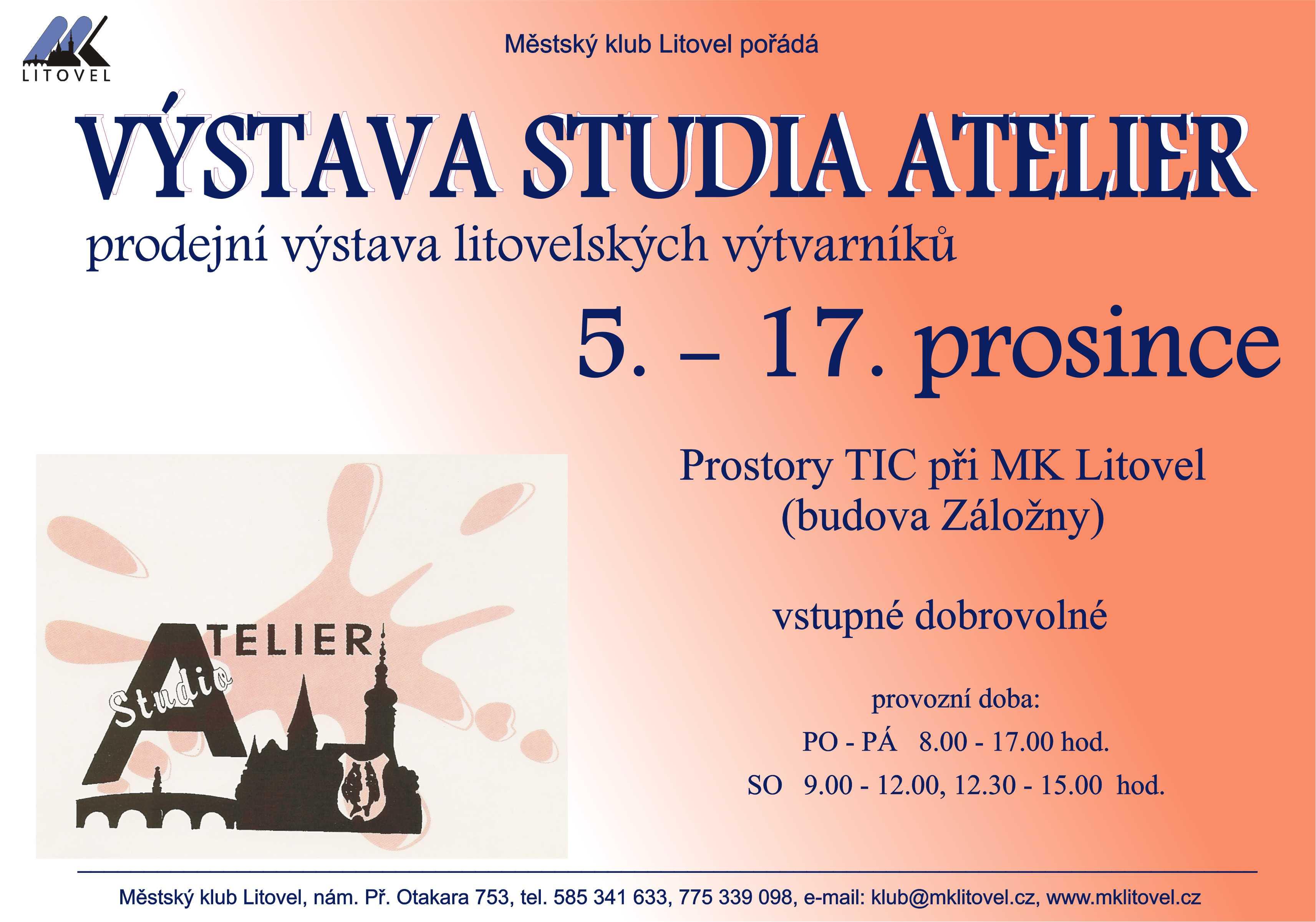 vystava studia Atelier, obrázek se otevře v novém okně